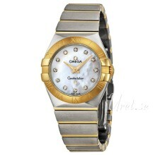 Omega Constellation Quartz 27mm White/18 carat yellow gold