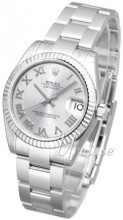 Rolex Datejust Midsize Silver colored/Steel