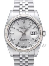 Rolex Datejust Steel Silver colored/Steel Ø36 mm